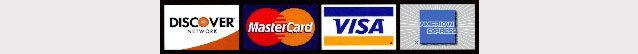 american express mastercard discover visa garage door repair payment